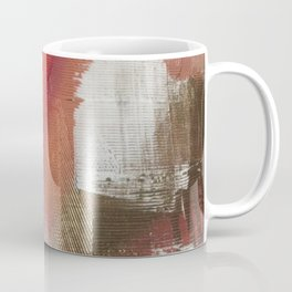 California Sun [2]: a minimal, abstract piece in reds and gold by Alyssa Hamilton Art Coffee Mug