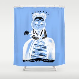 Elizabeth I Shower Curtain