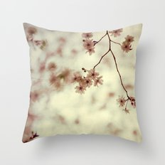 A Kiss Good-Bye Throw Pillow