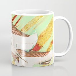 Fishnet Pop Art Coffee Mug