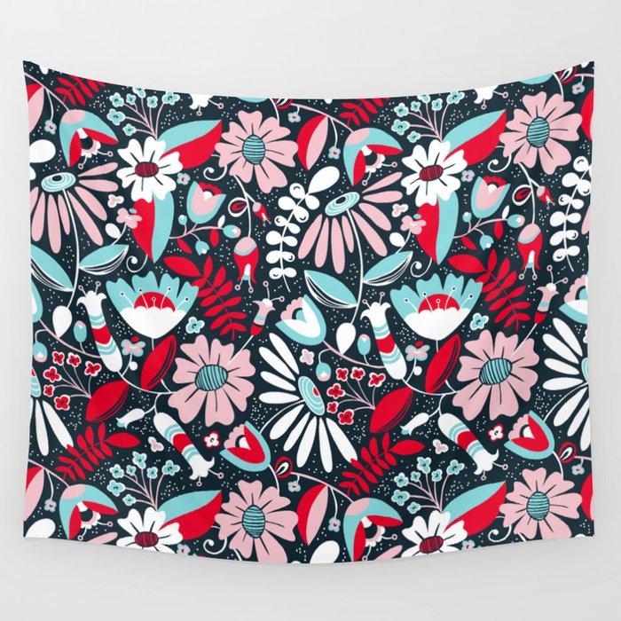Annabelle Flirt Wall Tapestry