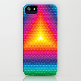 Triangle Of Life iPhone Case