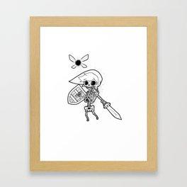Links Bones Framed Art Print