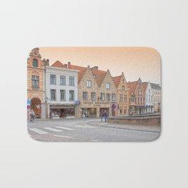 Brugge Architecture Bath Mat