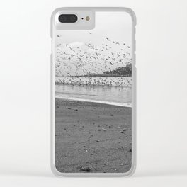 Seagulls near St Michael's Mount Clear iPhone Case