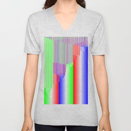 R Experiment 3 (quicksort v1) Unisex V-Neck