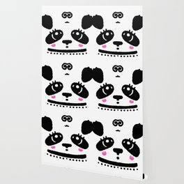 Panda Blush Wallpaper