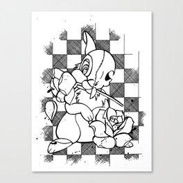 Alternative Thumper Canvas Print