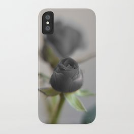 A Black Rose for your Sweetheart iPhone Case