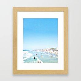 Summatime Madness Framed Art Print