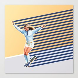 Skate Like a Girl 02 Canvas Print