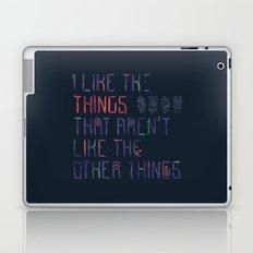 The Things I Like Laptop & iPad Skin