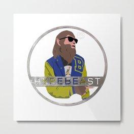 Teenwolf: Hypebeast iCon Metal Print