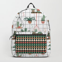 Modern Succulents Backpack