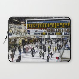 London Train Station Art Laptop Sleeve