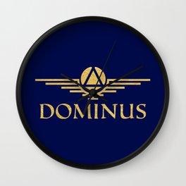 Call Me Dominus Wall Clock