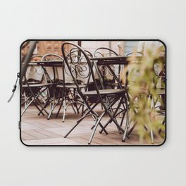 Cafeteria in Italy Laptop Sleeve