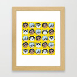 AoKuro family Framed Art Print