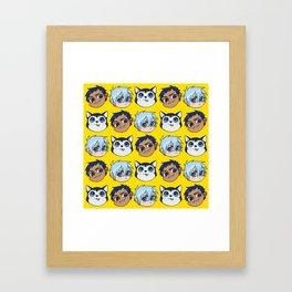 AoKuro family Framed Art Print