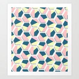 pattern - april/15 Art Print