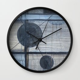 Spheres of Isolation Wall Clock