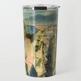 Neapolitan Vesuvius Travel Mug