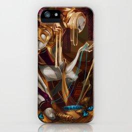 Weaver's Oddity iPhone Case