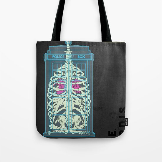 Spaceship Skeletal Survey: The Tardis Tote Bag