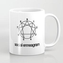 Social Enneagram Map Coffee Mug