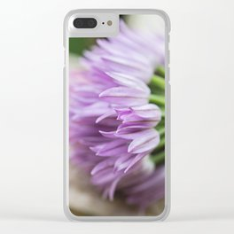 Chive Bouquet Clear iPhone Case