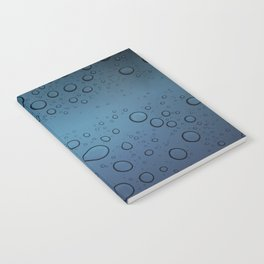 It was Night and the Rain fell Notebook