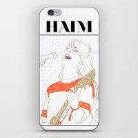 haim iPhone & iPod Skins featuring Danielle Haim by chazstity