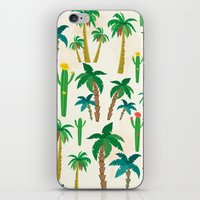 palm iPhone & iPod Skins featuring palm by Ceren Aksu Dikenci