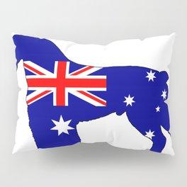 Australian Flag - Schnauzer Pillow Sham