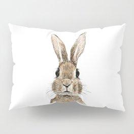 cute innocent rabbit Pillow Sham