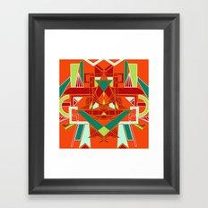 GeoLion Framed Art Print