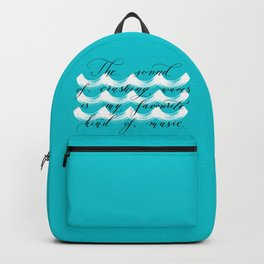 The Sound of Crashing Waves Backpack