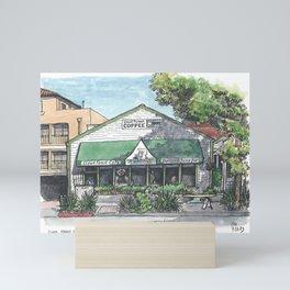 Cloud Forest Cafe, Davis Mini Art Print