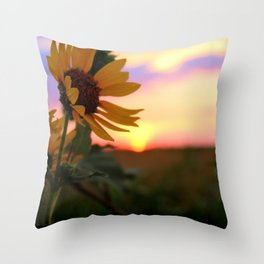 And The Sun Will Shine Throw Pillow