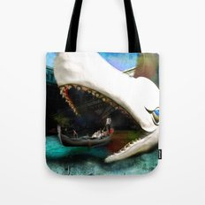 Whale of a Ride Tote Bag