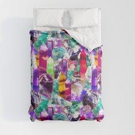 Rainbow Fluorite Toss Comforters