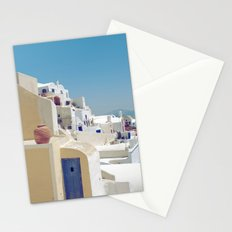 Santorini Door VIII Stationery Cards