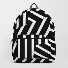 Op Art Triagles Backpack