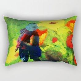 Dans les fleurs Rectangular Pillow