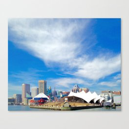 Colors of Baltimore Canvas Print