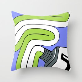 Toothpaste Throw Pillow