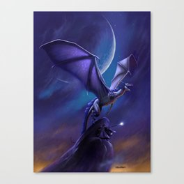Dragon's Flight Canvas Print