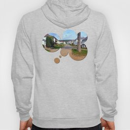 Picturesque small village center | architectural photography Hoody