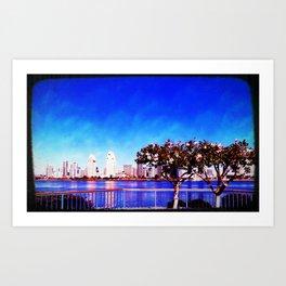 Seaport Village, SD, CA Art Print