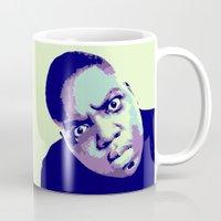 biggie Mugs featuring Biggie by victorygarlic - Niki